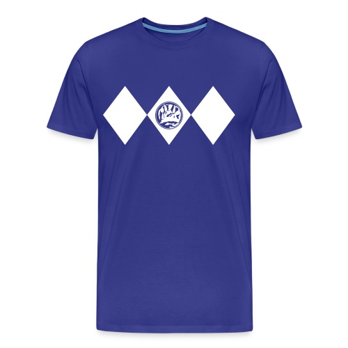 blue_dino - Männer Premium T-Shirt