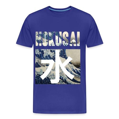 Hokusai Great Wave - Men's Premium T-Shirt