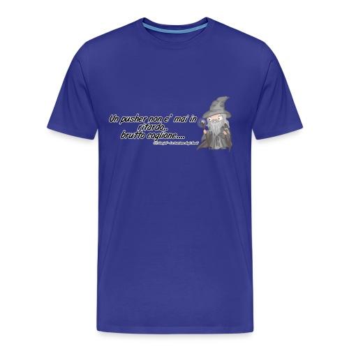 citazioni ganjalf2 png - Maglietta Premium da uomo