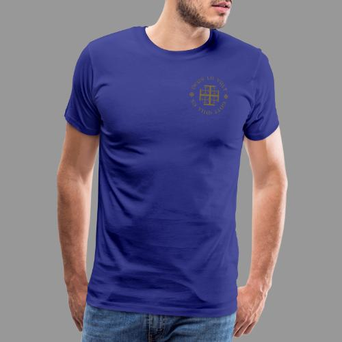deus lo vult - Gott will es - Männer Premium T-Shirt