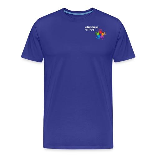 Mångfaldsfestival - Premium-T-shirt herr