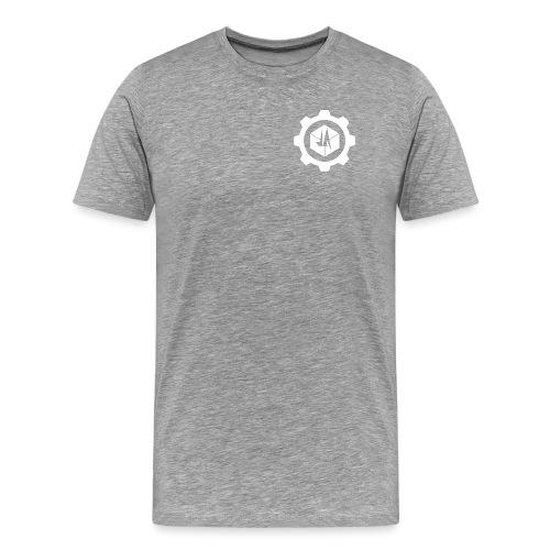 Jebus Adventures Cog White - Men's Premium T-Shirt