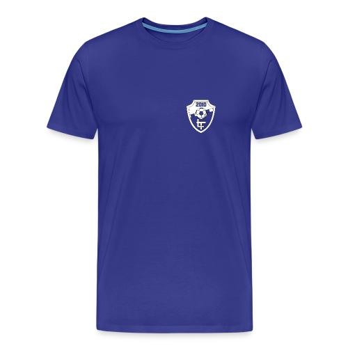 templateFinal trans inverse png - Mannen Premium T-shirt