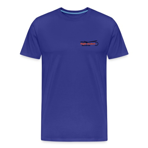 Flight Student Heli Sign - Männer Premium T-Shirt