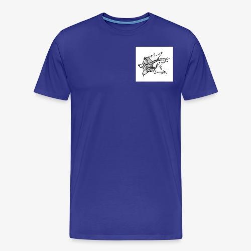 Chien masque - T-shirt Premium Homme