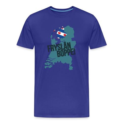 Fryslan Boppe - Mannen Premium T-shirt