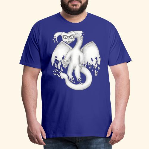 Spökdrake - Premium-T-shirt herr