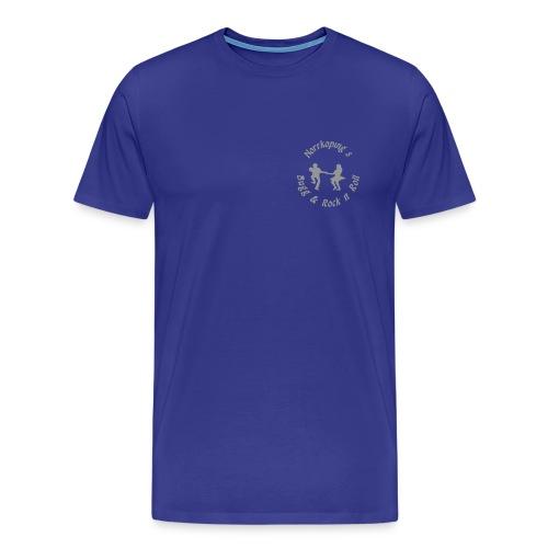 nbr 100mm - Premium-T-shirt herr