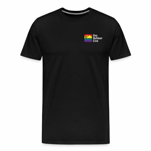 GOC Logo White Text - Men's Premium T-Shirt