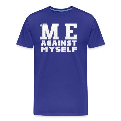 Me against myself - Männer Premium T-Shirt