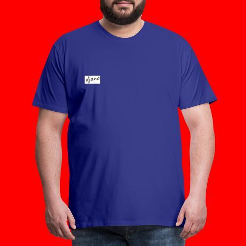 Djono logo - Mannen Premium T-shirt