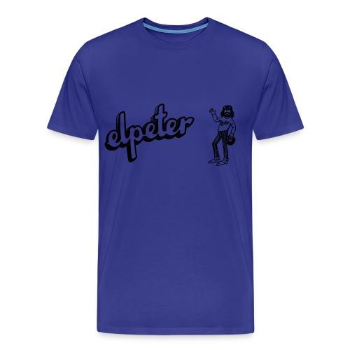 Elpeter Tekst Logo 2 - Mannen Premium T-shirt