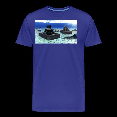 mit freundin auf der see - Männer Premium T-Shirt