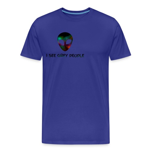 I SEE GREY PEOPLE - Men's Premium T-Shirt