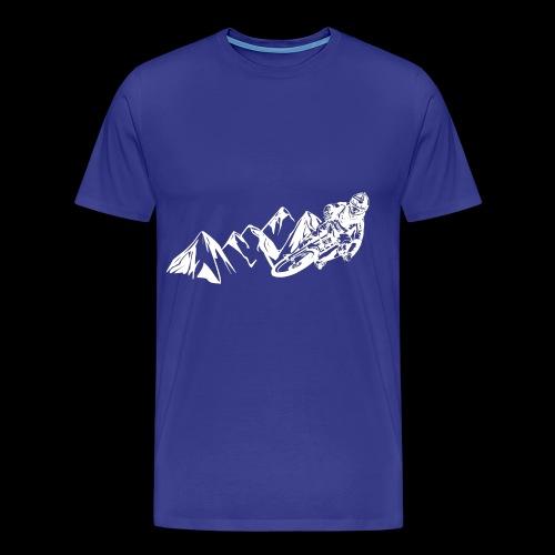 Downhill/ Freeride/ Dirt/ BMX - Männer Premium T-Shirt