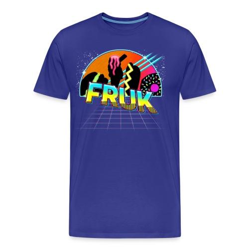 FRUK 80s v3 png - Men's Premium T-Shirt