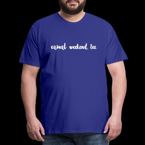 Casual Weekend Tee - Männer Premium T-Shirt