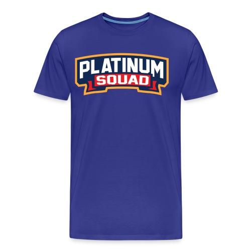 Platinum Trophies Squad Logo - Men's Premium T-Shirt