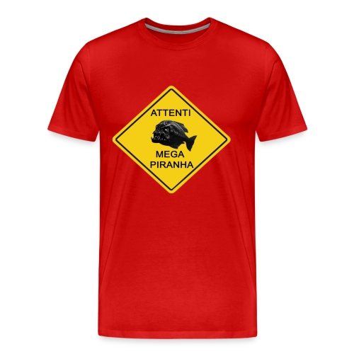 mega piranha - Maglietta Premium da uomo