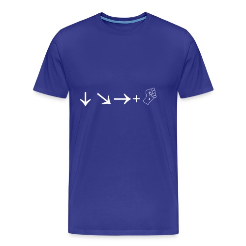 Hadouken W - Maglietta Premium da uomo
