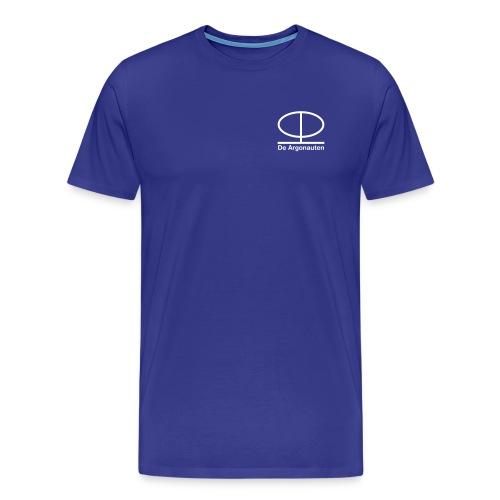 Simpel logo front en logo back - Mannen Premium T-shirt