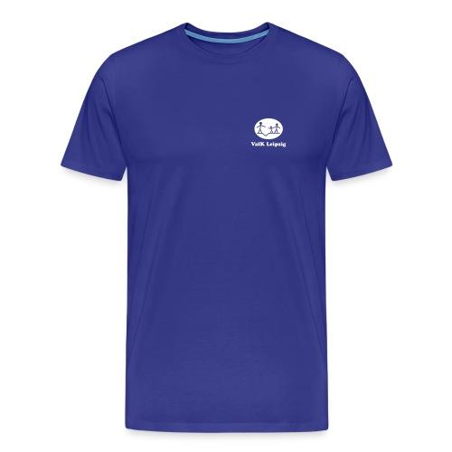 vafklogo weiss mit schrift - Männer Premium T-Shirt