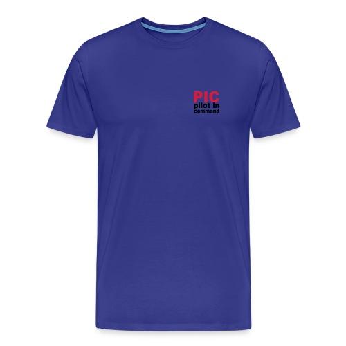 PIC Sign - Männer Premium T-Shirt