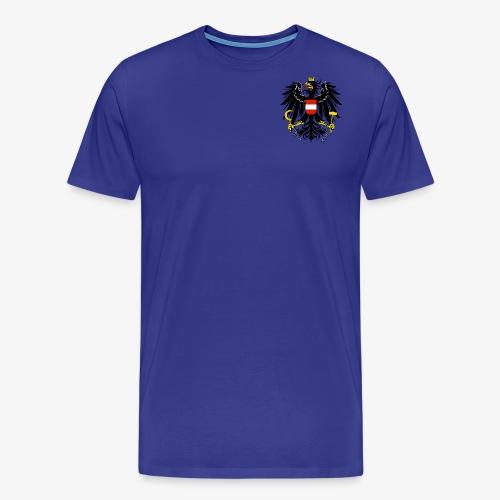 Österreich Wappen - Männer Premium T-Shirt