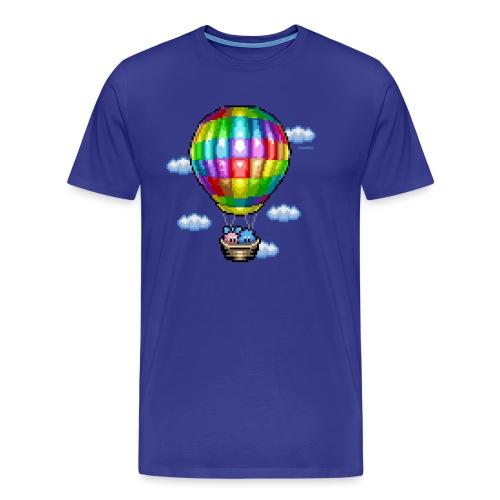 Heißluftballon - Männer Premium T-Shirt