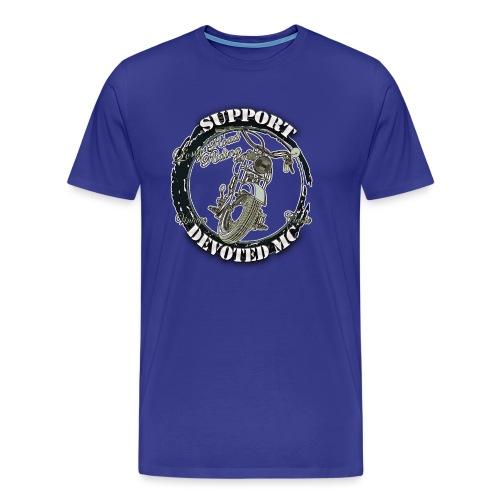 T-Shirt DEVOTEDMC SUPPORTSHOP10007 - Premium T-skjorte for menn