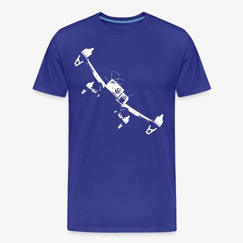 quadflyby2 - Men's Premium T-Shirt