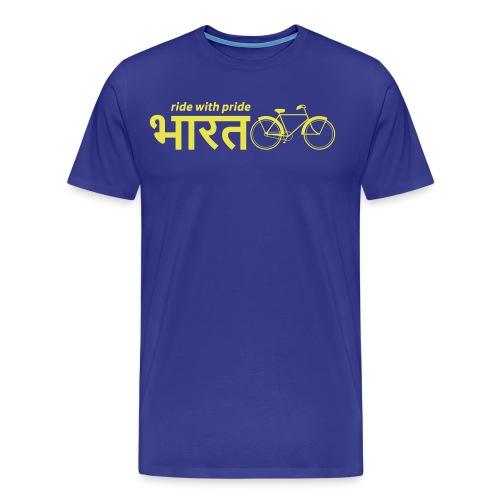 India: Ride with Pride Bike - Men's Premium T-Shirt