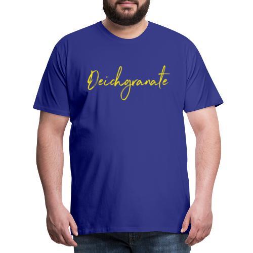 Deichgranate (gelb) - Männer Premium T-Shirt