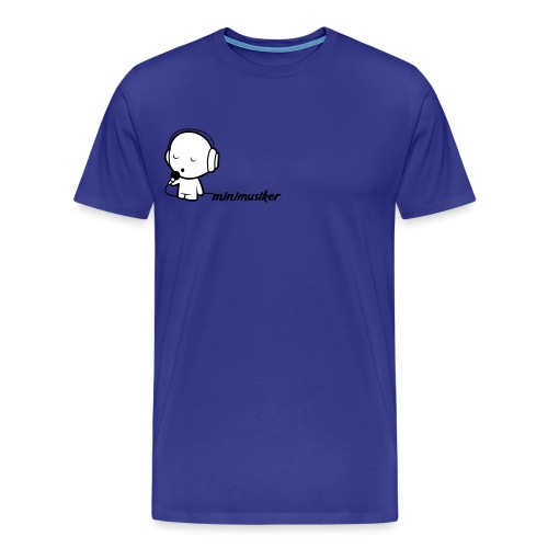 Minimusiker Logo - Männer Premium T-Shirt