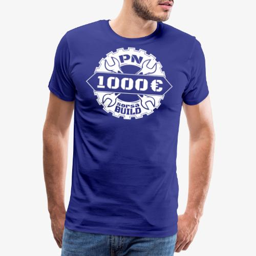 1000sorsa - Premium-T-shirt herr