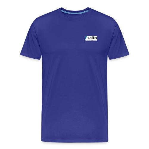 Psalto svblå KDGS rediger - Premium-T-shirt herr