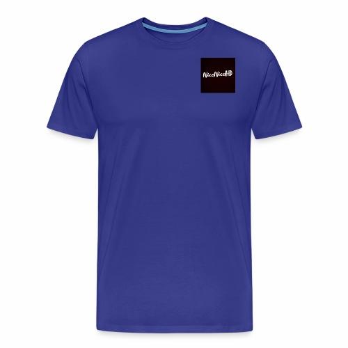 Das NiceNiceHDS Black Logo - Männer Premium T-Shirt