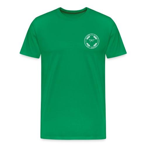 PSC Budo Emblem weiß png - Männer Premium T-Shirt