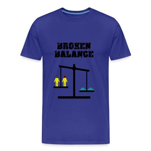 broken balance - Camiseta premium hombre