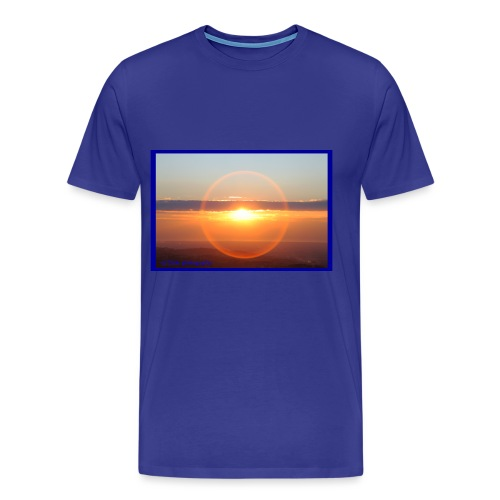Sunset with optical effect - Maglietta Premium da uomo