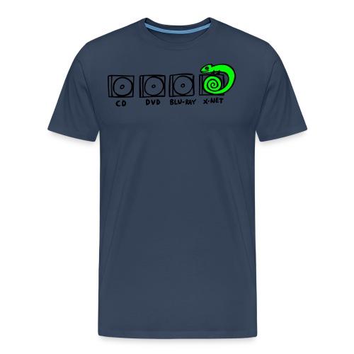 xnet vektormotiv - Männer Premium T-Shirt