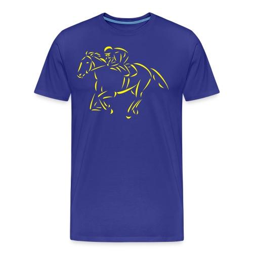 Rennpferd - Männer Premium T-Shirt