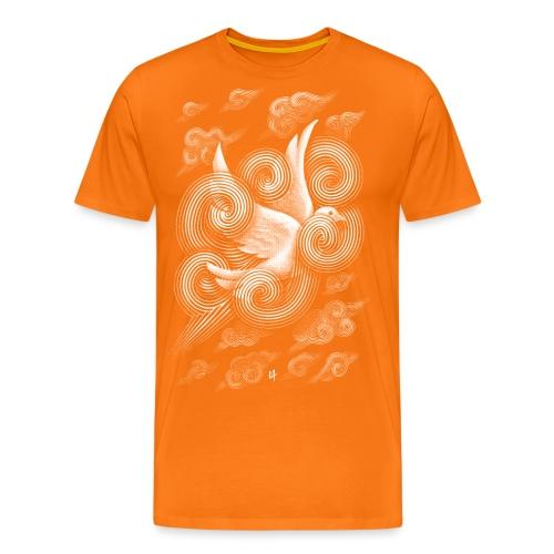 Crossing Clouds - Men's Premium T-Shirt