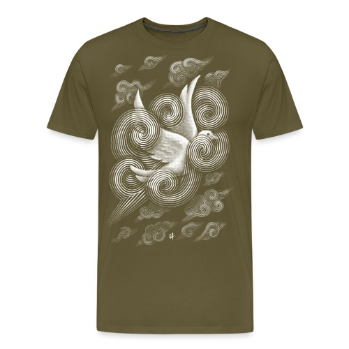 Crossing Clouds - Men's Premium T-Shirt