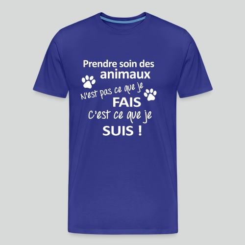 Prendre Des Soins Des Animaux - T-shirt Premium Homme