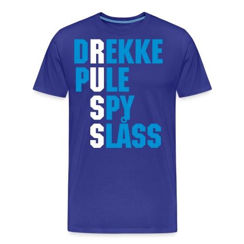 RUSS - Premium T-skjorte for menn