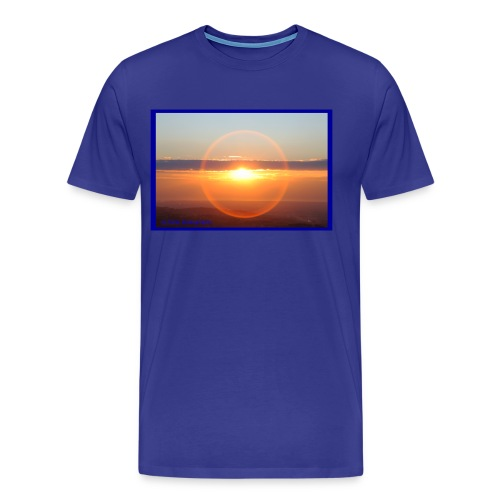 Sunset with optical effect - Maglietta Premium da uomo