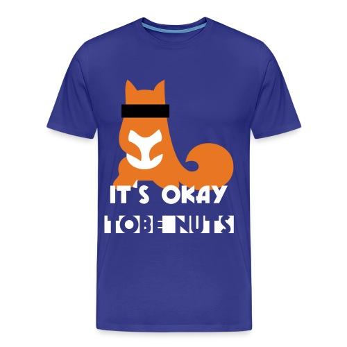 shirt okayFINAL2 png - Männer Premium T-Shirt