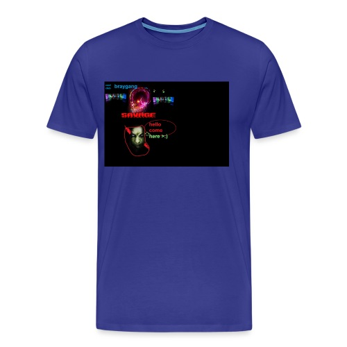 cool club second merch - Men's Premium T-Shirt