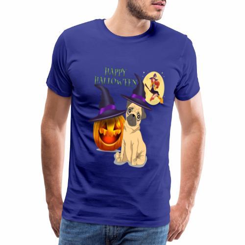 pug halloween - T-shirt Premium Homme